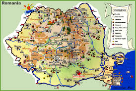 Romania Blank Map by Travel Map Of Romania