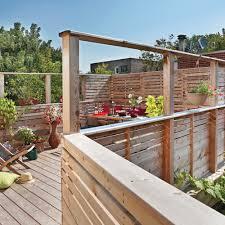 garde corps jardin de garde corps à écrans patio inspirations jardinage et