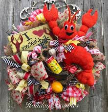 crawfish decorations cajun christmas decorations louisiana themed christmas ornaments