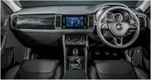 skoda kodiaq interior wheelmonk skoda kodiaq sportline specs features and more