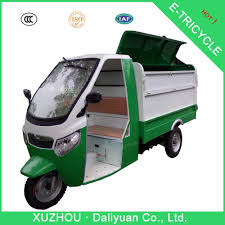 electric truck for sale electric garbage 3 wheel taxi motor scooters for adults buy 3