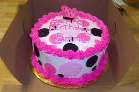 pink u0026 black polka dot cake cakecentral com
