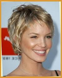 feathered haircuts for round faces short feathered hairstyles for round faces hairstyles pictures