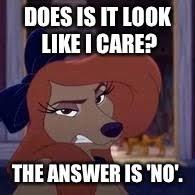 Like I Care Meme - does it look like i care imgflip