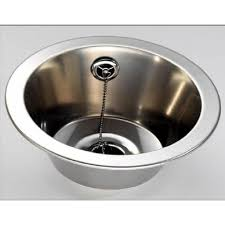 round sink bowl fitmykitchen fin230r round inset bowl 280mm diameter stainless