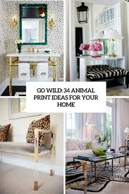 Ideas For Home Decorating by Go Wild 34 Animal Print Ideas For Your Home Digsdigs
