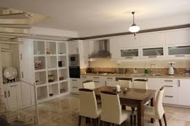 Kitchen Units Design by Dining Room And Kitchen Design That Blends Artdreamshome With