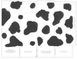 cow face pattern