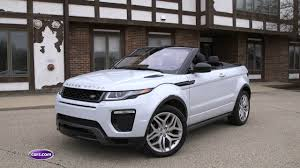 evoque land rover 2017 land rover range rover evoque convertible review youtube