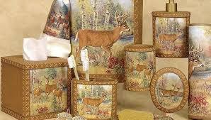 Deer Themed Home Decor Deer Bathroom Accessories Bathroom Interior Home Design Ideas