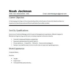 graduate career objective statement exles exle of resume objective statements