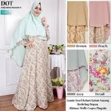 Baju Muslim Dewasa Ukuran Kecil model baju gamis terbaru 2017 ukuran jumbo big size harga murah