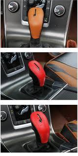 Accessories For Cars Interior Leather Hand Brake Handbrake Cover U0026shift Knob Gear Shift Cover Car
