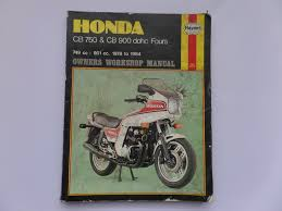 honda factory haynes and clymer workshop repair manual