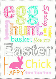 easter egg hunt invitations printable
