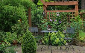 Garden Privacy Ideas Garden Secluded Seating Area Pergola Garden Privacy Ideas