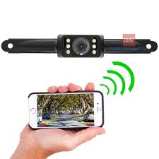 boyo vtl500r license plate backup with wifi and smartphone