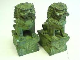 lion bookends pair of composite lion bookends