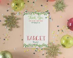 printable christmas targets teacher target card etsy