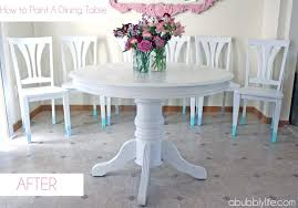 Shabby Chic Dining Table Set Furniture Superb Round Dining Table Shabby Chic How To Paint A