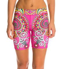 triflare women u0027s bollywood triathlon shorts at swimoutlet com