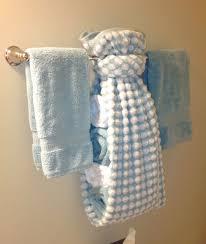 Paper Hand Towels For Powder Room - creative ways to display towels in bathroom hand towel display