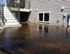 Stain Concrete Patio Yourself Best 25 Acid Stained Concrete Patio Ideas On Pinterest Acid
