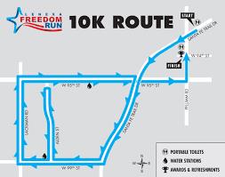 Run Map Freedom Run City Of Lenexa