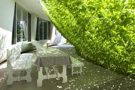 Japanese Patio Design Architecture Amazing Green Screen House Patio Design With Grass