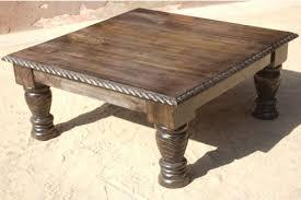 rustic square coffee table top square rustic coffee table coffee tables ideas top 10 square