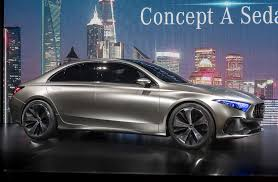 luxury mercedes sedan mercedes benz a class sedan previewed by concept in shanghai