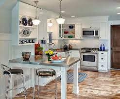 Modern Kitchen For Small Spaces Small Dining Room Kitchen Design Igfusa Org
