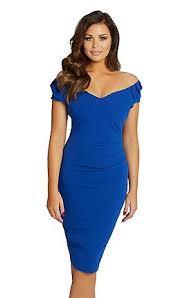 blue bodycon dress blue wright for sistaglam dresses women debenhams