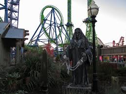 Sox Flags New England Fright Fest At Six Flags New England 2013 Photo Trip Report By