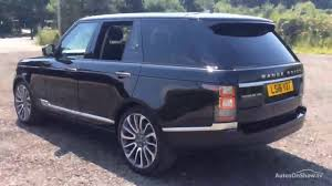 dark blue range rover land rover range rover tdv6 vogue se black 2016 youtube