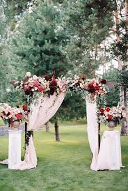 wedding arches ottawa how gorgeous is this marsala pink wedding arch this is something
