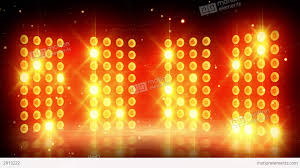 yellow stage lights loopable background stock animation 2913222