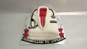 doctor uniform cake fondant how to make birthday cake easy youtube