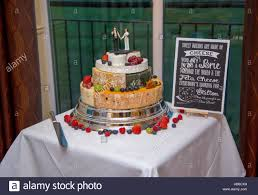 wedding cake made of cheese wedding cake made of cheese decorated with fruit and wars