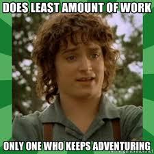 Frodo Meme - scumbag frodo tumblr