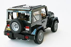mobil jeep offroad lego ideas jeep wrangler rubicon