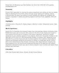 Stocker Resume Sample by Sample Resume For Hospital Unit Clerk