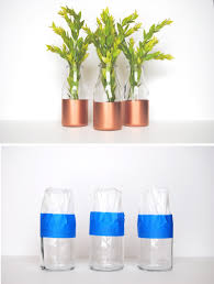 Spray Paint Wine Bottle Crafts Having Fun With Copper Spray Paint U2013 11 Diy Ideas