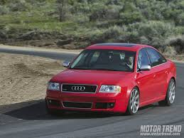 2003 audi rs6 horsepower 2003 audi rs6 and mercedes e55amg comparison motor trend