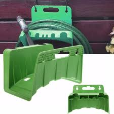 wall mounted garden hose pipe holder bracket fit cable storage