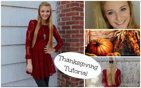n thanksgiving makeup hair