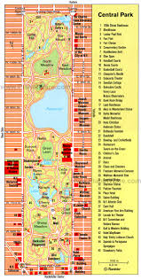New York City Map Pdf Visiting New York U0027s Central Park 10 Top Attractions Planetware