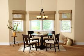 decorating fantastic window decor with bamboo roman shades design