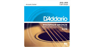 d addario ej16 phosphor bronze light acoustic guitar strings d addario ej16 phosphor bronze light acoustic guitar strings 12 53