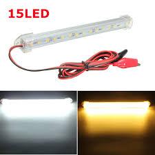 led clearance lights motorhomes new 12v led 150cm car interior light bar tube strip l van boat